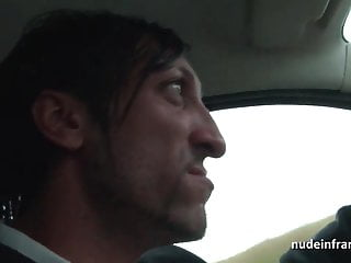 Taxi driver nude vids French milf hard banged and jizzed on tits by a taxi driver