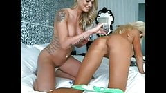 Double Trouble 2 Hot Blondes w Anal Beads