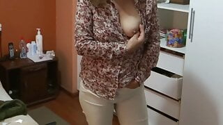 My wife's sister is horny in her bedroom, she wants to fuck