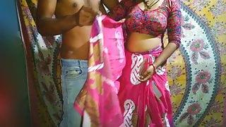 Beautiful Desi bhabhi has hard fuck with devar