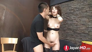 JAPAN HD Squirting Japanese Pornstar gets a Creampie