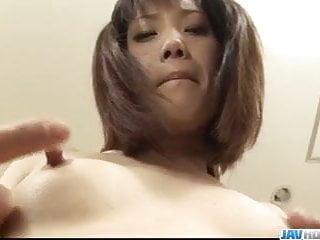 Japanese sex dolls videos - Ageha kinashita petite doll shared by two hunks