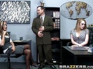 Big tits at work kinzie kenner - Brazzers - big tits at work - kagneys box scene starring ka