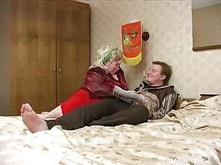 Russ strip roofing Grosse femme russe