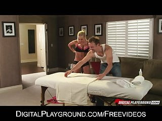 Get woman for sex - Stressed out business woman jesse jane gets a massage