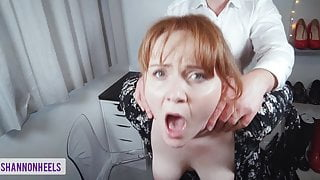 Fuck the Boss to Save My Job - Shannon Heels