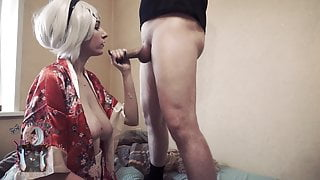 Fucked stepsister  until parents see