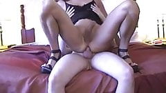 CD shows her fan a great time with Bareback Creampie