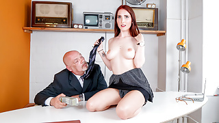 LETSDOEIT - Dirty German Babe Seduce And Fucks With Her Boss