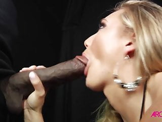 Monster black cock ass Blonde fucked by super monster black cock