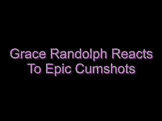 Randolph al sex offinders Grace randolph reacts to faith leon cum facial