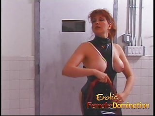 Make me cry fuck - Dominatrix makes a first time slave cry in no time