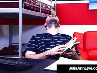 Julia ann ramon cumshot - Big titty instructor julia ann dicked by her horny student