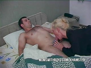 Horny blowjobs Hot horny mama wakes stepson with a blowjob