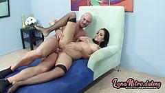 She sucks dick & gets pounded like a slut! LenaNitro.dating