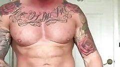 muscular amazing boy
