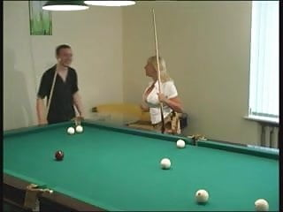 Soccer players nude - Mature pretty lady with big boobs young billiards player
