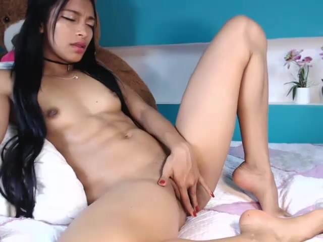 Girl Sucks Her Own Nipples
