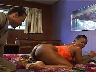 Vintage cookies Classic ebony cookie gets thick booty fucked