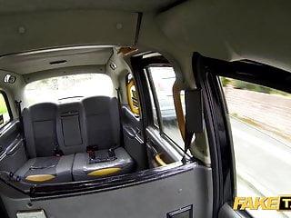 Mu no more fake tits Fake taxi driver gets more than a flash from amber jayne