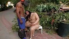 Dick suckin ebony mom