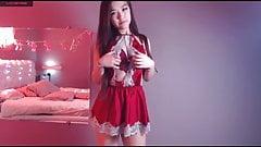 Sweet Asian love, anime girl