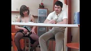 Russian Dissolute Mommy Gloria & cunt-hunter Adam 6