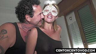 Renzo and Lucia, swinger couple perform with Alex Magni and R