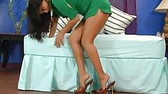Sunny Leone - Stocking Tease
