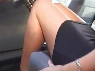 Sexy wife in dress Wife dressed sexy goes to get fucked