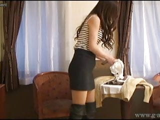 Silk japanese sexy mens underwear Peeping japanese schoolgirl is underwear and school uniform.