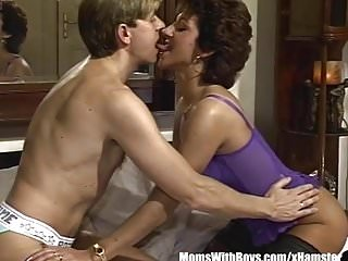 Milf in sexy lingerie Horny wife doggystyle fucked in sexy lingerie