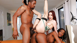 Ashley Aleigh Shares Her Boyfriend's BBC With April Snow