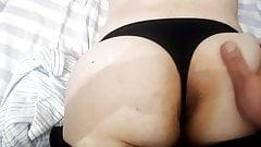 Ass massage milf Gf big dark sexy asshole