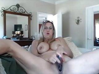 Hot mom dildo Hot grandma masturbating with dildo on cam