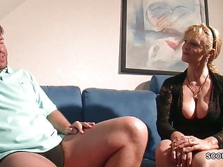 My sons huge hot cock - Monster cock step-son seduce hot german mother to fuck