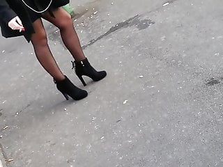 Stainless steel 303 tgp specification Candid pantyhose in bus stop 303