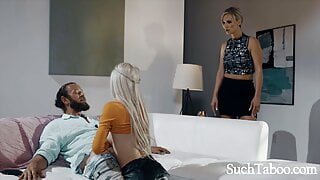 Husband Cheats With Wife's Young Lookalike- Kenzie Reeves