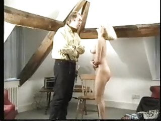 Naked blonde twink rimjob - Naked blonde caning
