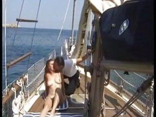 Robert redhead - Robert ribot and renata wife on boat