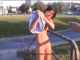 Amateur erotic photo shadow voyeur web Backstage - another photo session on the street