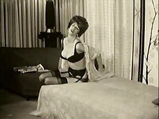 Vintage lingerie videos Vintage lingerie strip