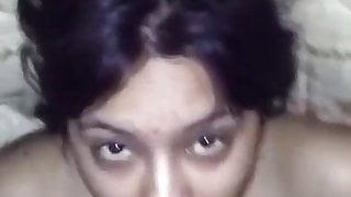 Desi Indian girl, fuck and facial