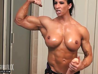 Hot female bodybuilder sex videos - Huge female bodybuilder massive cock