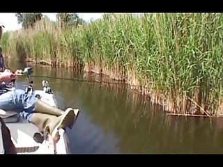 Accidental pussy Accidental amateur voyeur fishing trip