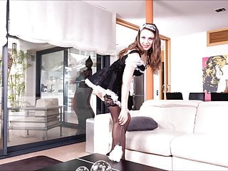 Tit job galleris Maid gallery sofia curly black stockings hard fucking
