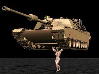Building tank girl missile boobs Muscle girl tank lift