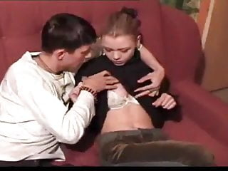 His first giant cock Sb3 giving his nervous stepsister her first taste of cock