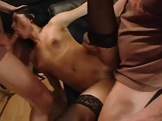 Chick sex sex Extreme gangbang with german chick 3