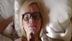 Blondie Gf With Glasses Gets